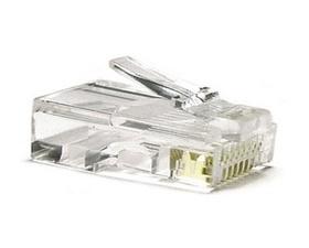 Nano Cable Conector RJ45 CAT5 8Hilos 10uds