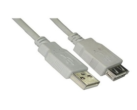 Nano Cable de Extension USB Tipo A-F 1m