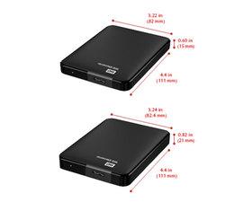 Western Digital Disco Duro Externo de 1TB 2.5'' USB 3.0