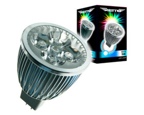Retto MR16 Dicroica LED Luz Fria