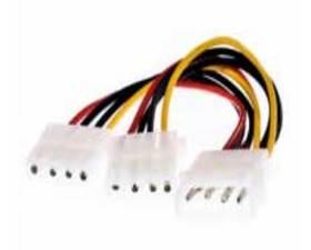 Nano Cable de Alimentación Molex 2conectores