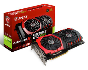 MSI GeForce GTX1060 GAMING X 6GB GDDR5