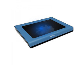 Approx Laptop Cooler Pad Azul 2 LEDS