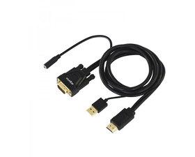Approx Adaptador HDMI a VGA + Audio + Alimentación