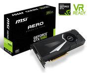 MSI GeForce GTX1080 Aero 8GB OC GDDR5X
