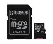 Kingston SDC10G2 microSD 128GB 1 Adaptador Clase 10