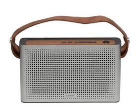 Denver BTS-200 Retro Bluetooth Plata