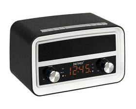 Denver Retro CRB-619 Radio Despertador Bluetooth