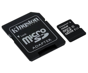 Kingston microSD 16GB Clase 10 Adaptador
