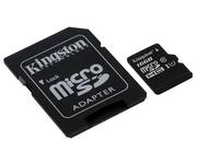 Kingston microSD 16GB Clase 10 Adaptador