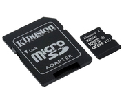Kingston microSD 32GB Clase 10 Adaptador