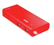 Trust Primo PowerBank 10000mAh Rojo