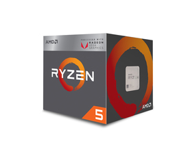 AMD Ryzen 5 2400G 3.6 GHz Box AM4