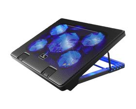 "CoolBox COO-NCP17-5BL Base de Refrigeración para Portátiles hasta 17"""