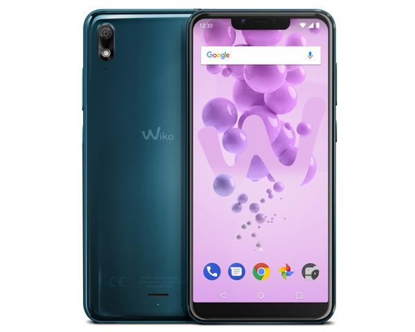 Smartphone Wiko View 2 GO turquesa