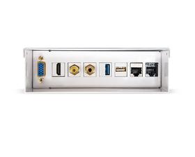 Nanocable Caja de Conexiones Multimedia de Pared VGA/HDMI/Jack 3.5/RCA/USB/RJ-45