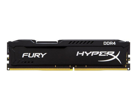 Kingston HyperX Fury Black DDR4 8GB 2400Mhz.