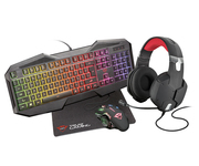 Trust GXT 1182RW Bundle 4 en 1 Gaming