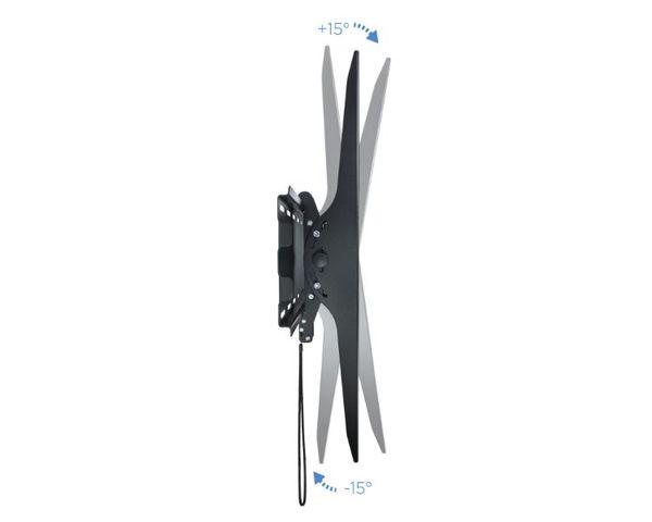 """TooQ  LP42130T-B Soporte TV 60""""-100"""" VESA 1000x800 Inclinable Máx 130Kg"""