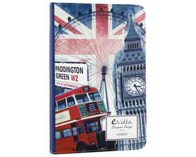 "E-Vitta Funda Stand 2P Urban Trendy London para Tablets de  9.7""-10.1"""