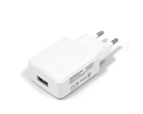 Leotec Cargador para Tablet 5V 2A Cable USB Blanco