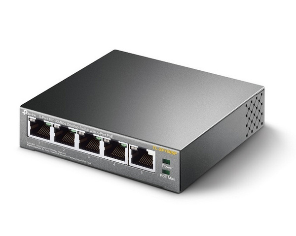 TP-Link TL-SF1005P Switch 5 Puertos 10/100 Mbps PoE