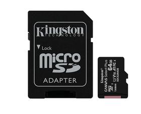 Kingston MicroSD 64GB Canvas Select Plus con Adaptador