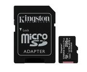 Kingston MicroSD 256GB Canvas Select Plus con Adaptador