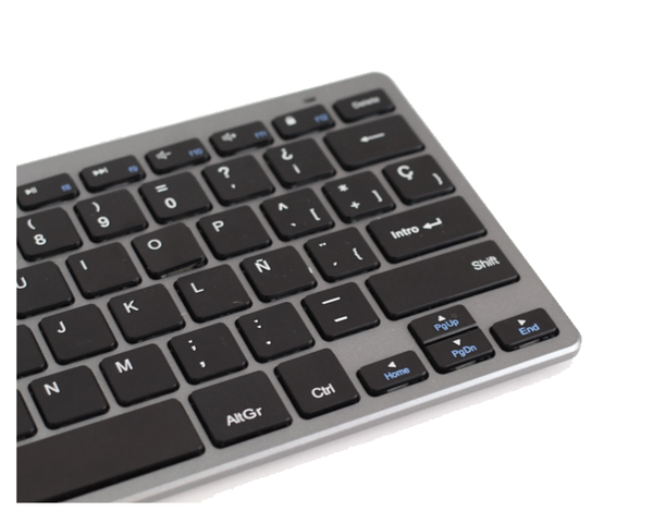 Subblim Dynamic Compact Teclado Bluetooth Gris
