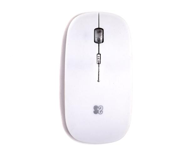 Subblim Flat Ratón Inalámbrico Bluetooth Blanco