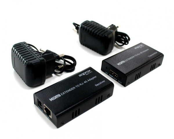 Approx Adaptador HDMI Extender a red  RJ45 hasta 50M