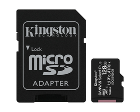 Kingston MicroSD 128GB Canvas Select Plus con Adaptador