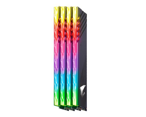 Gigabyte AORUS RGB DDR4 3600 16GB 2X8GB con 2 Módulos Demo
