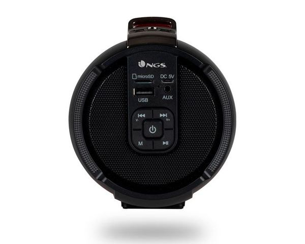 NGS Roller Tempo Altavoz Bluetooth Negro