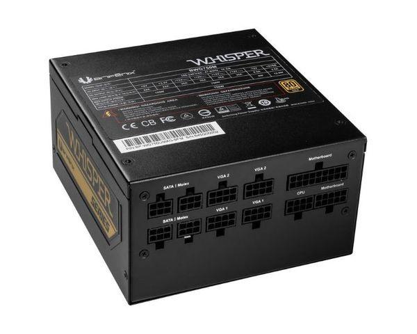 BitFenix Whisper Fuente de Alimentación 450W 80+ Gold Modular