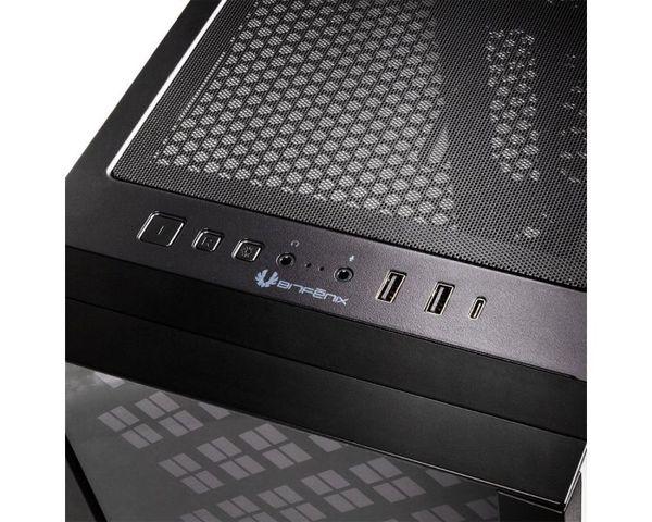 BitFenix Dawn Semitorre E-ATX Cristal Templado USB 3.0 ARGB Negro
