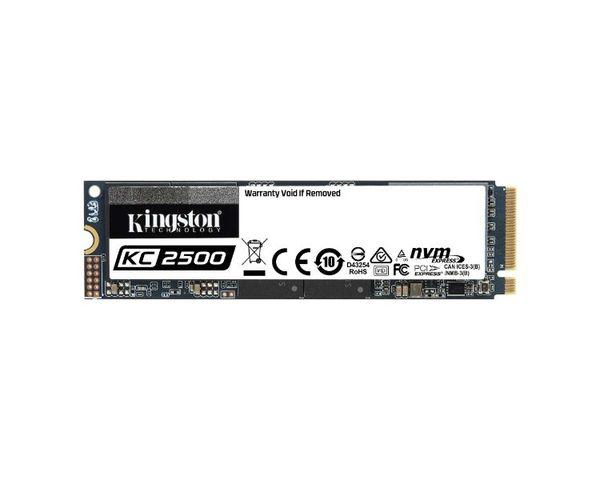 Kingston KC2500 1TB SSD M.2 2280 NVMe PCIe