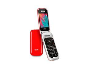 SPC Velvet Teléfono para Personas Mayores Rojo