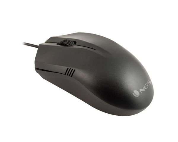 NGS Easy Beta Ratón Óptico USB 1000DPI Negro