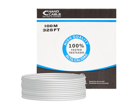 Nanocable Cable de Red UTP CAT6 100m Rígido
