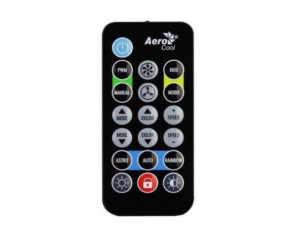 Aerocool Mirage 12 ARGB Pro 3 Ventiladores 120 ARGB + Hub H66F RGB + Control Remoto