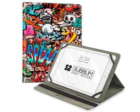 "Subblim Graffiti Funda Universal para Tablet hasta 10.1"""