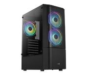 Aerocool Quantum Mesh V3 RGB Cristal Templado USB 3.0 Negra