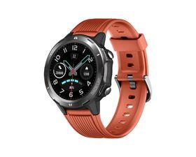 Leotec MultiSport RoundFit Smartwatch Naranja