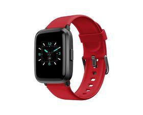 Leotec SquareFit BP Smartwatch Rojo