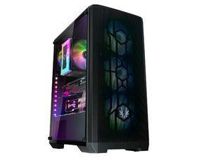 BitFenix Nova Mesh SE TG Cristal Templado USB 3.1 4A-RGB Negro