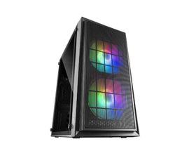 Mars Gaming MCDUO RGB MicroATX USB 3.0 Negro